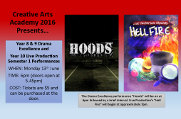 Creative Arts Academy 2016 Performances