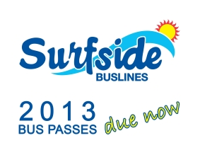Applications for 2013 Bus Passes