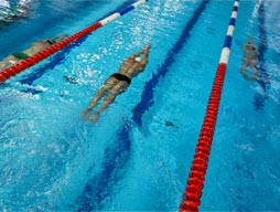 The Junior and Senior Swimming Carnival